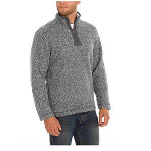 NWT Orvis Men's Brighton Quarter Zip Sweater L